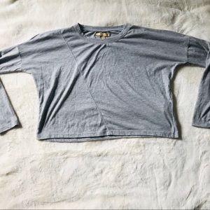 Zara Boxy Long Sleeve T-Shirt